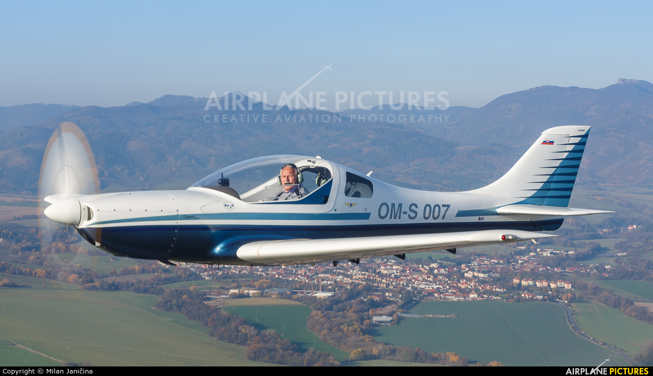 Private OM-S007 aircraft at In Flight - Slovakia