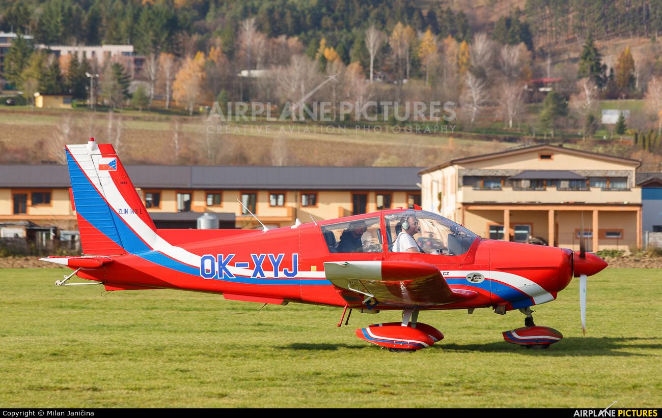 Private OK-XYJ aircraft at Prievidza