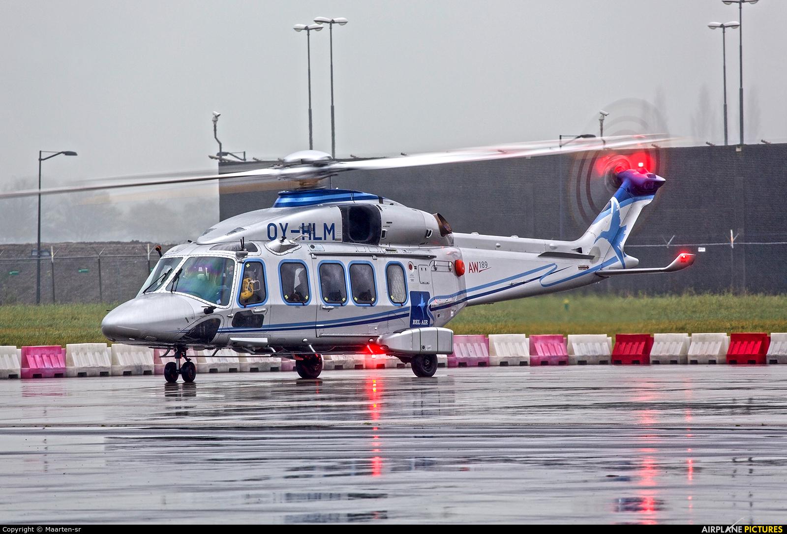 Bel Air Aviation OY-HLM aircraft at Rotterdam