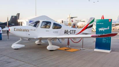 A6-CTF - Emirates Airlines Cirrus SR22