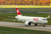 HB-JBH - Swiss Bombardier CS100 aircraft