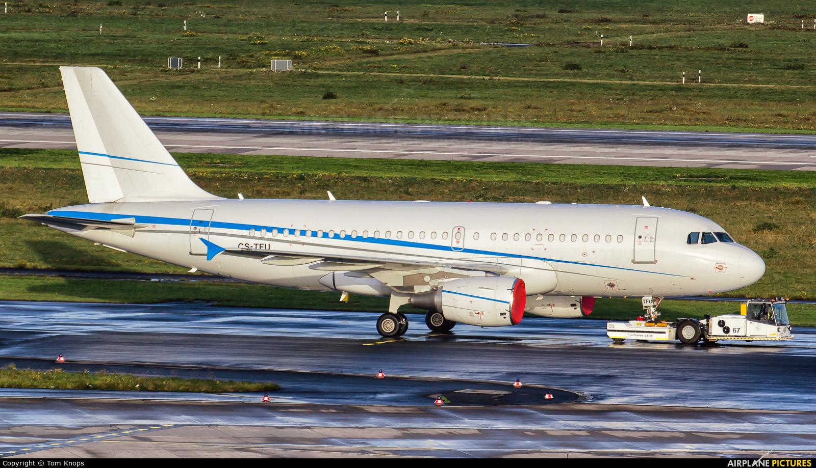 White Airways CS-TFU aircraft at Düsseldorf