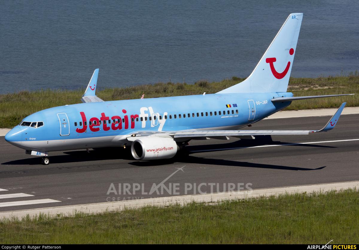 Jetairfly (TUI Airlines Belgium) OO-JAR aircraft at Corfu - Ioannis Kapodistrias