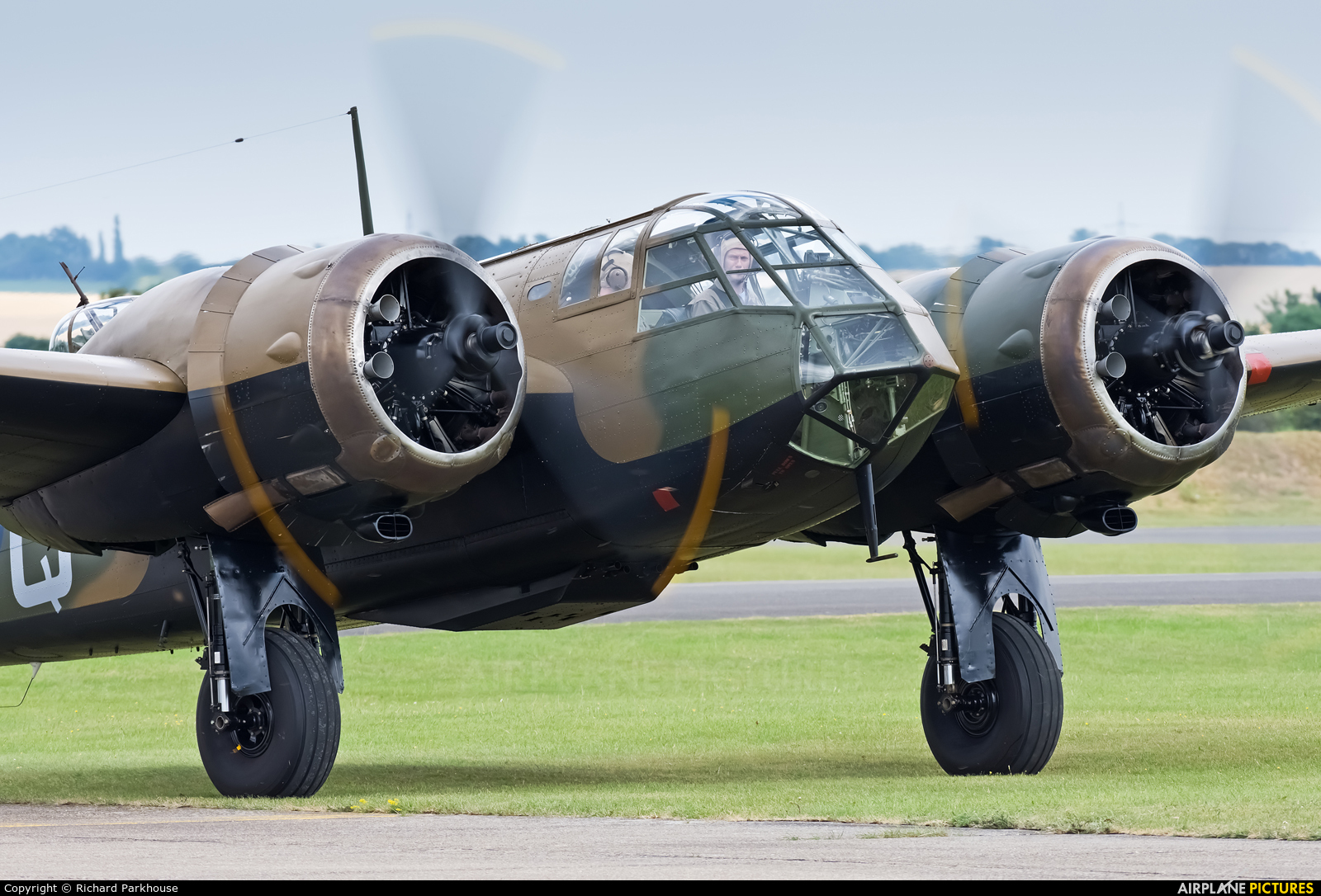 Flying Legends G-BPIV aircraft at Duxford