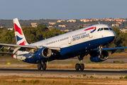 G-EUXJ - British Airways Airbus A321 aircraft