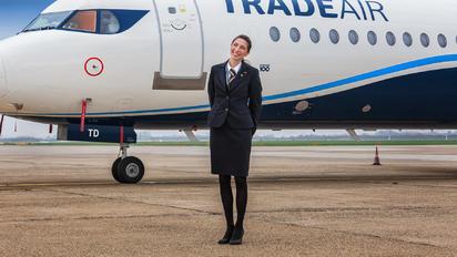 9A-BTD - Trade Air - Aviation Glamour - Flight Attendant