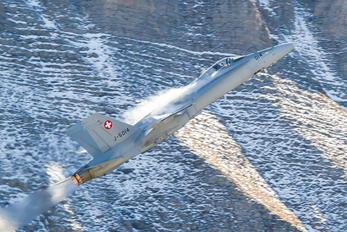 J-5014 - Switzerland - Air Force McDonnell Douglas F/A-18C Hornet