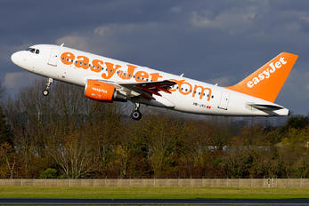 HB-JYC - easyJet Switzerland Airbus A319