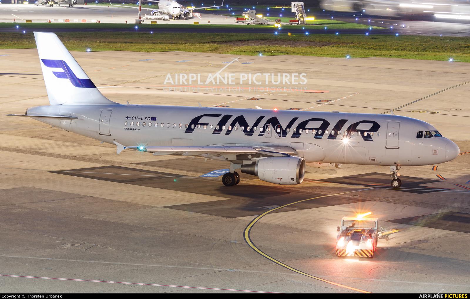 Finnair OH-LXC aircraft at Düsseldorf