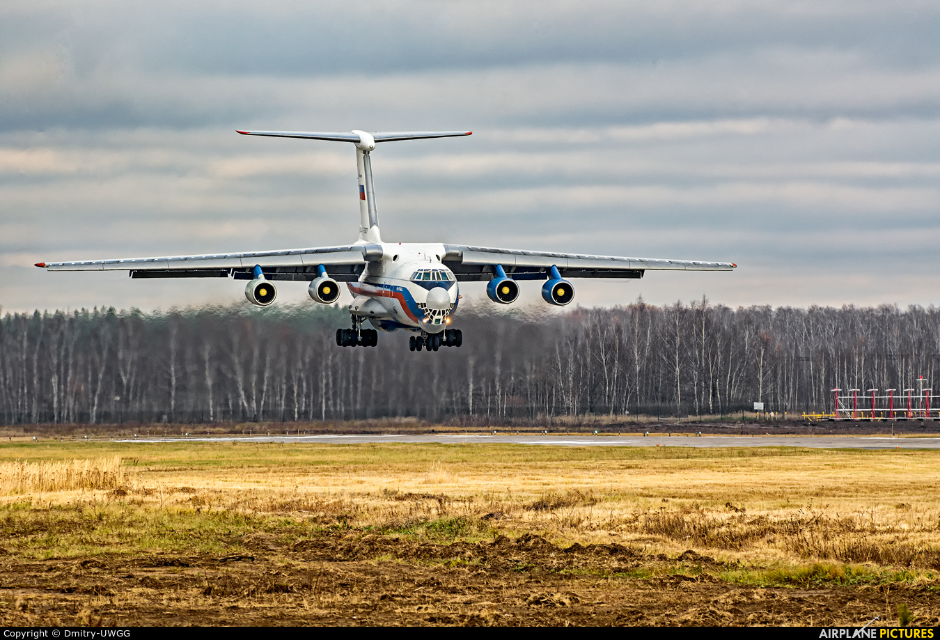 Russia - Ministry of Internal Affairs RF-76827 aircraft at Undisclosed Location