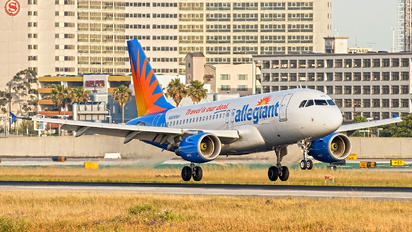 N306NV - Allegiant Air Airbus A319
