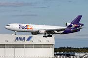 N624FE - FedEx Federal Express McDonnell Douglas MD-11F aircraft