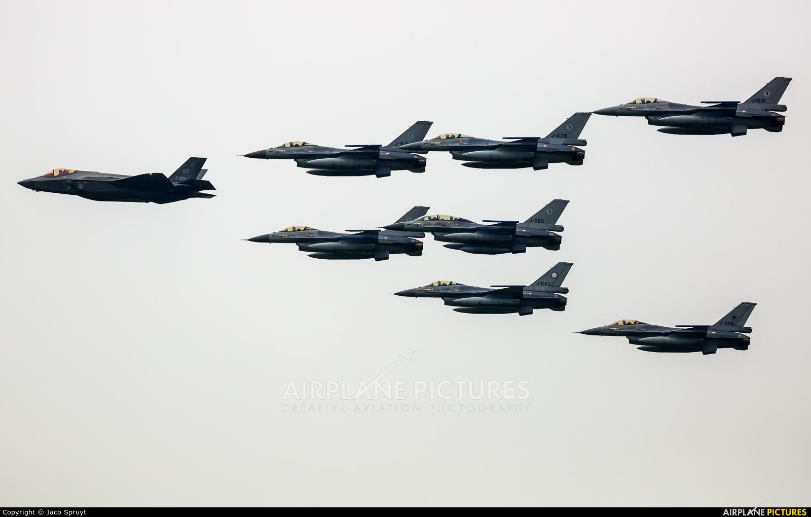 Netherlands - Air Force F-001 aircraft at Leeuwarden