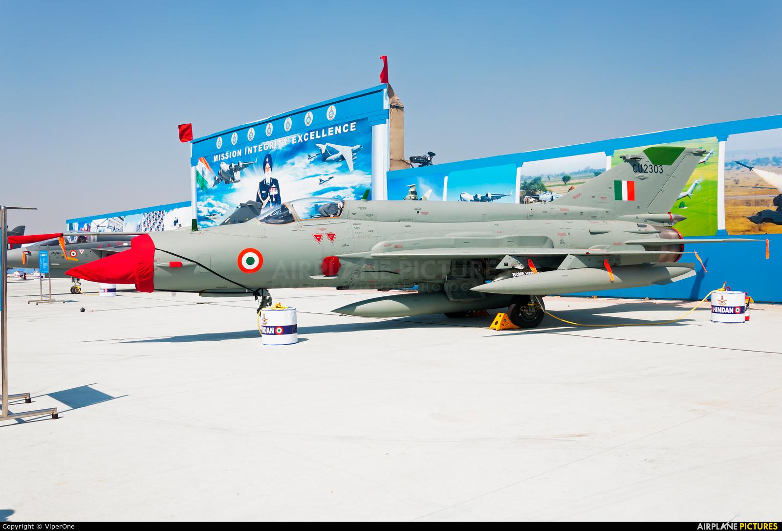India - Air Force CU2303 aircraft at Hindon AFB