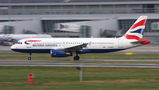 British Airways Airbus A320 G-EUUJ at Warsaw - Frederic Chopin airport