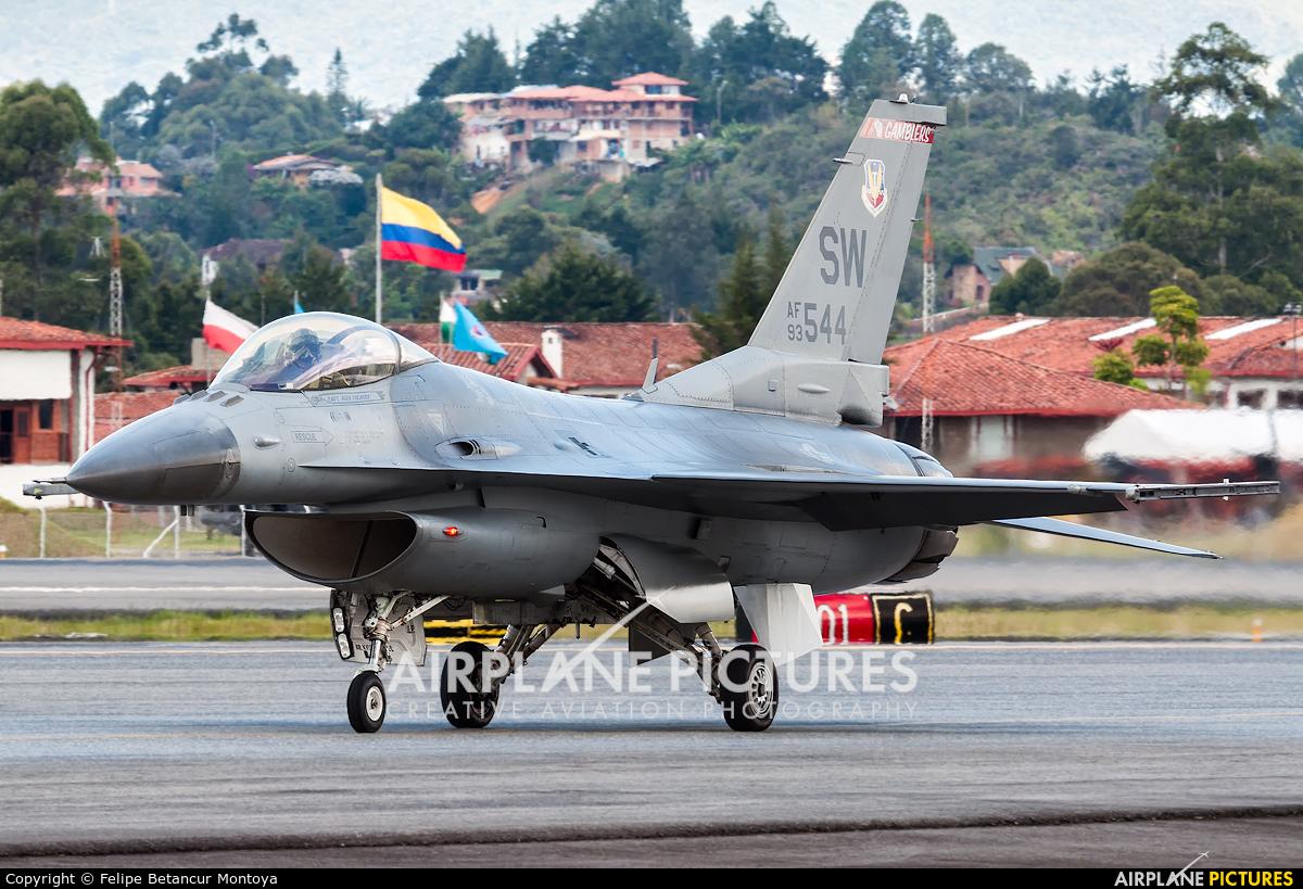 USA - Air Force 93-0544 aircraft at Medellin - Jose Maria Cordova Intl