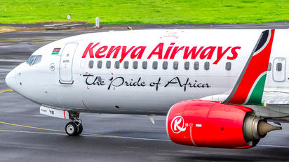 5Y-KYB - Kenya Airways Boeing 737-800