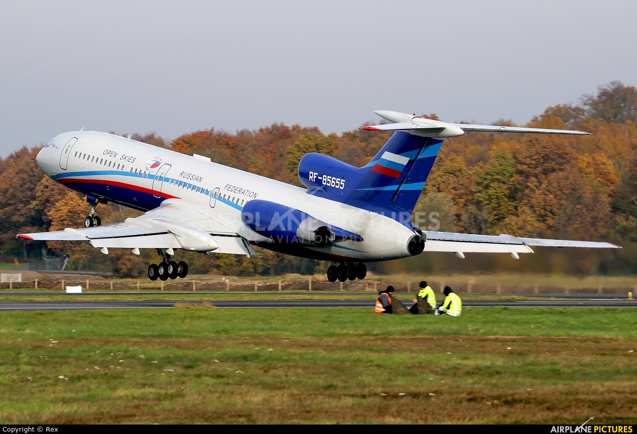 Russia - Air Force RF-85655 aircraft at Cologne Bonn - Konrad Adenauer
