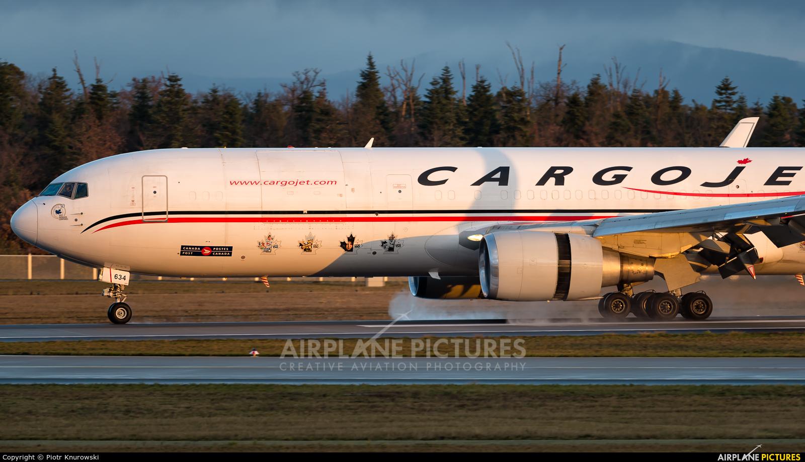 Cargojet Airways C-FGSJ aircraft at Frankfurt
