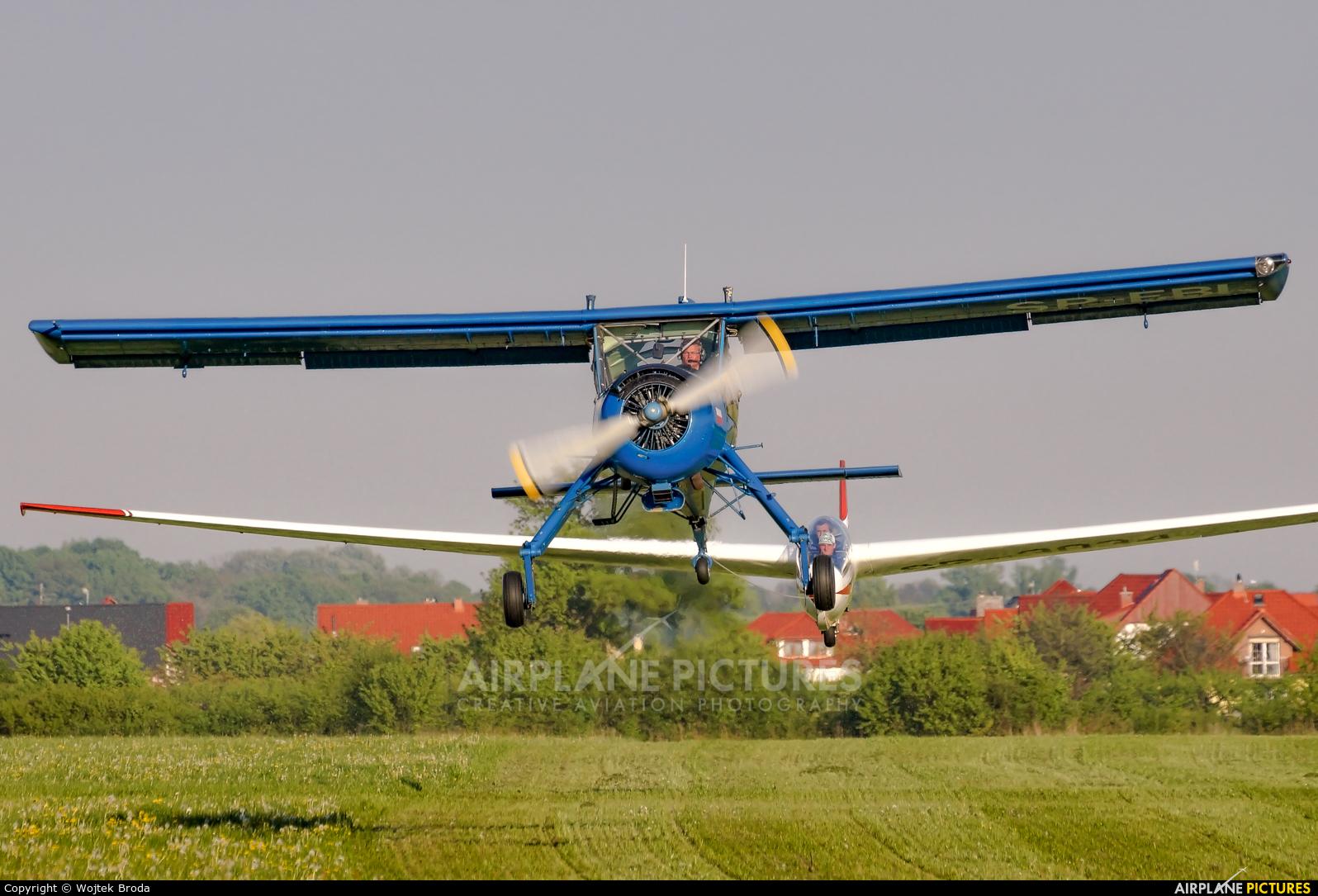 Aeroklub Wroclawski SP-EBI aircraft at Wrocław - Szymanów