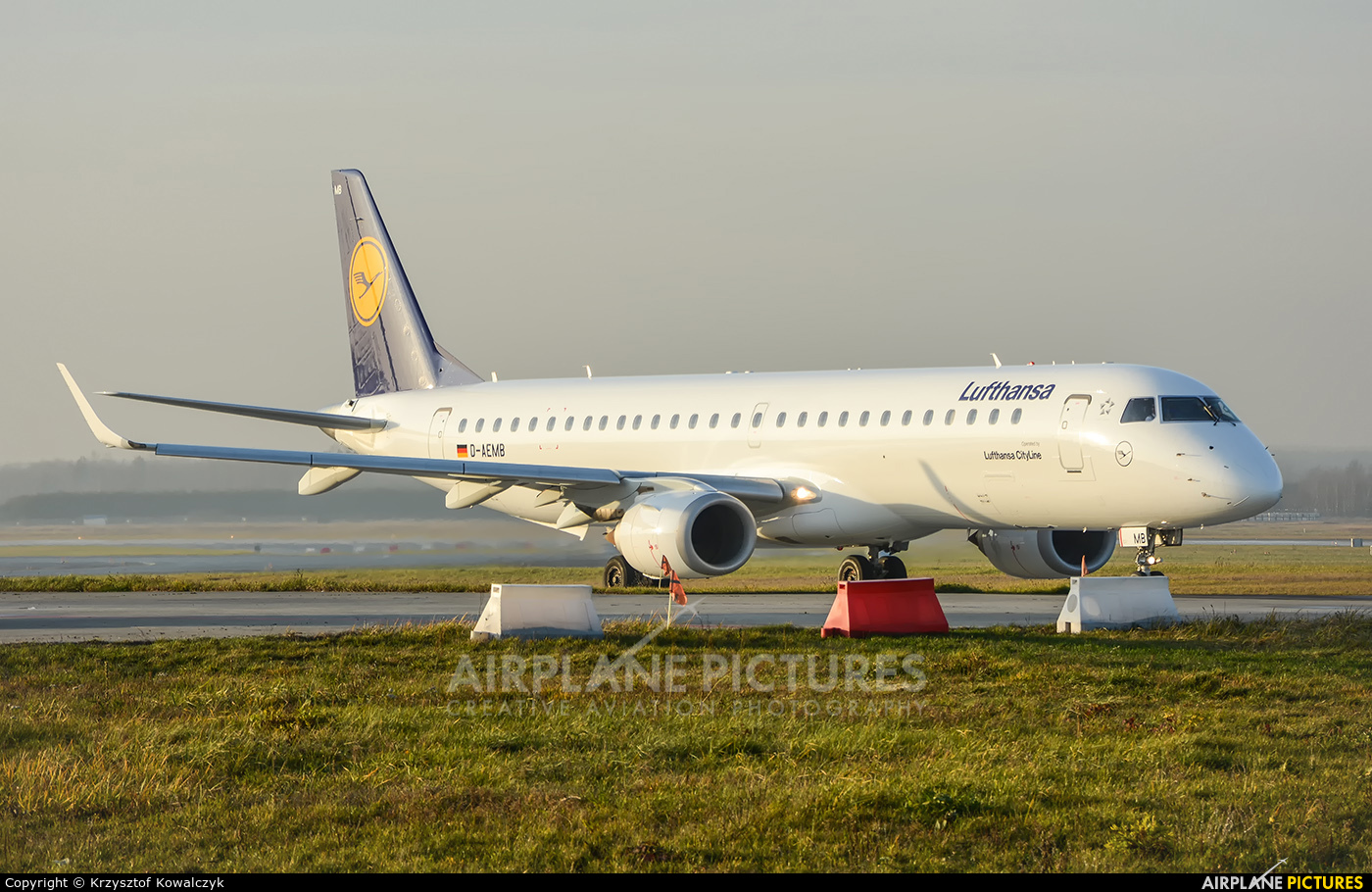 Lufthansa Regional - CityLine D-AEMB aircraft at Katowice - Pyrzowice