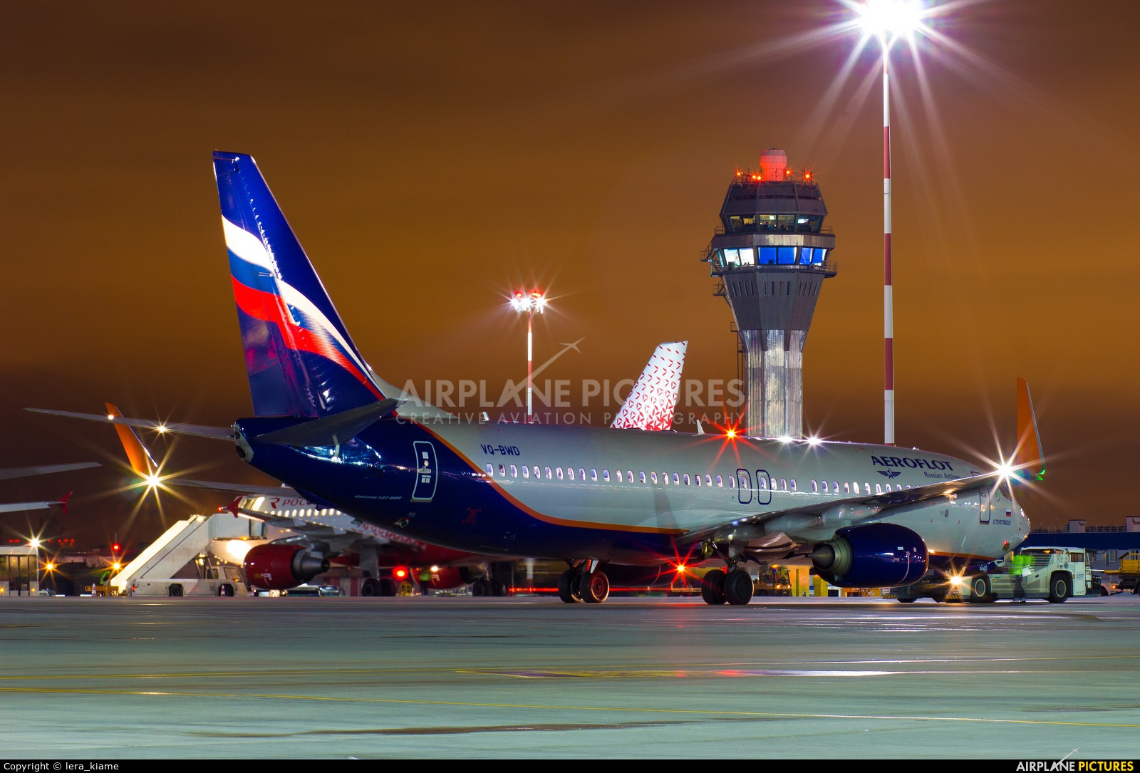Aeroflot VQ-BWD aircraft at St. Petersburg - Pulkovo