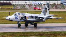 07 - Ukraine - Air Force Sukhoi Su-25M1 aircraft