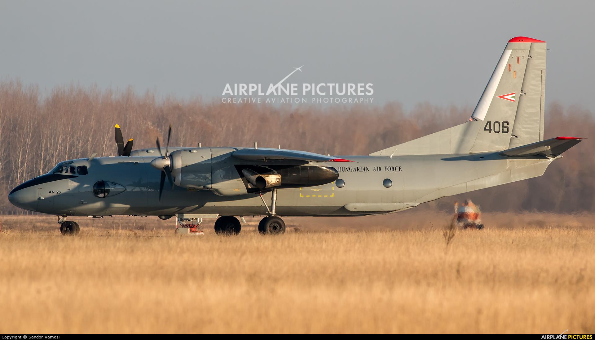 Hungary - Air Force 406 aircraft at Kecskemét