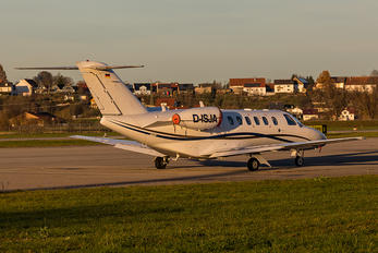 D-ISJA - Private Cessna 525 CitationJet