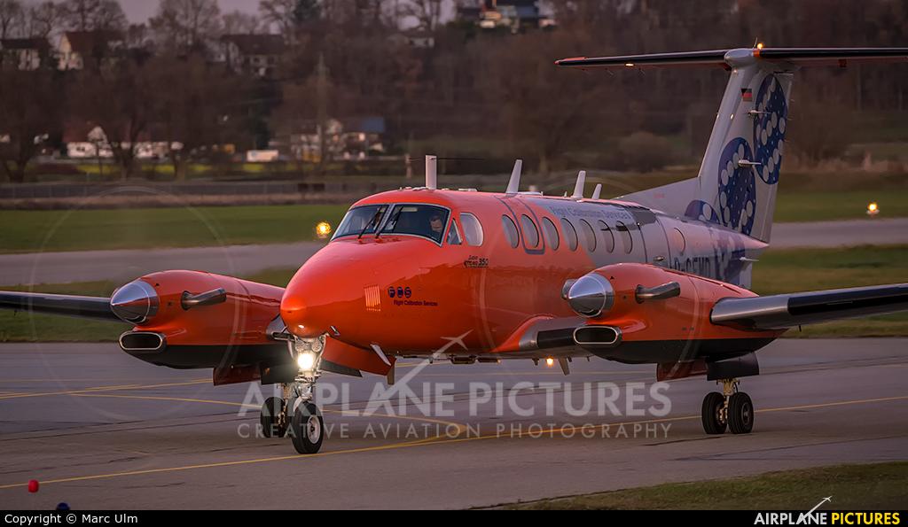 Flight Calibration Services D-CFMD aircraft at Augsburg