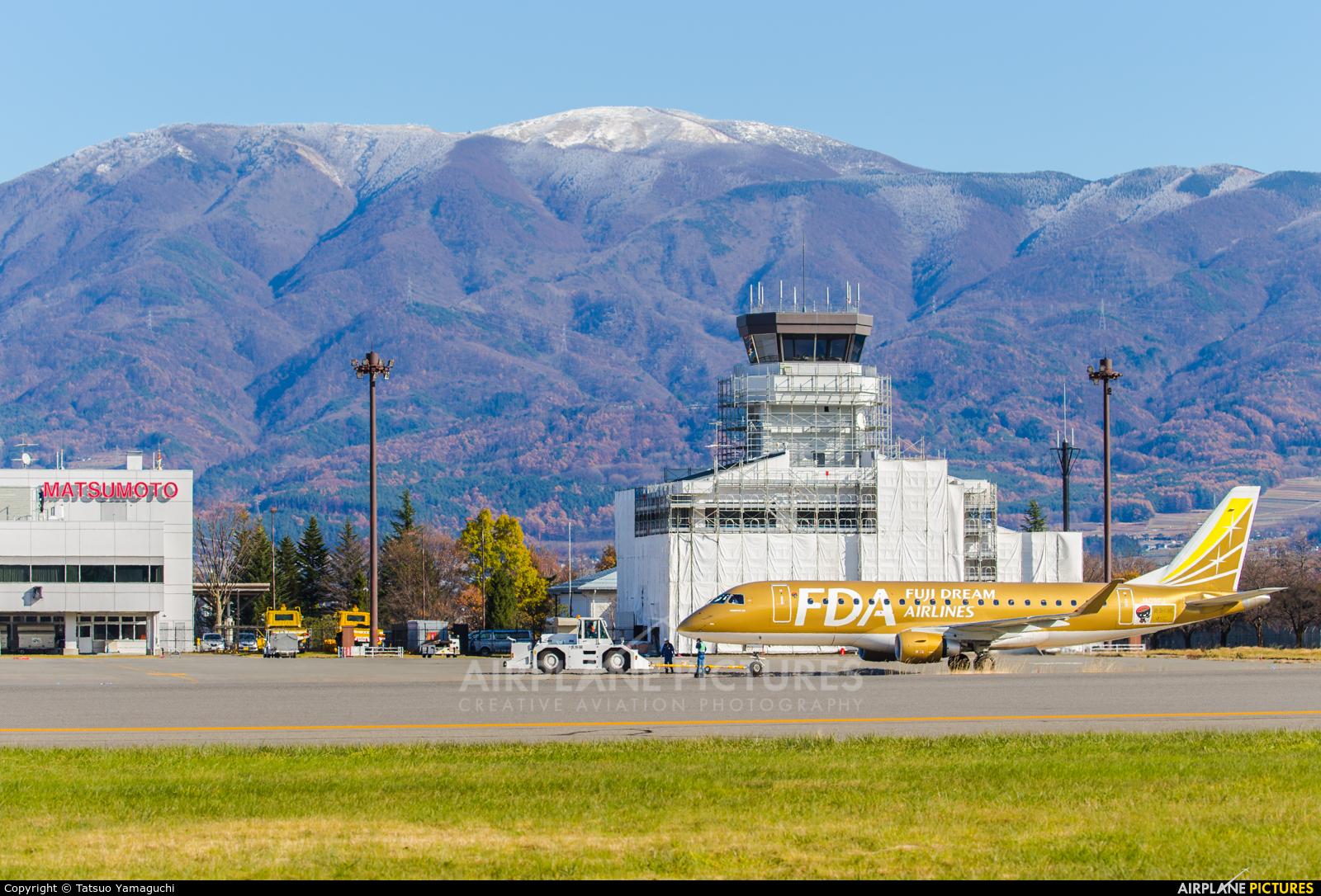 - Airport Overview  aircraft at Shinshu - Matsumoto