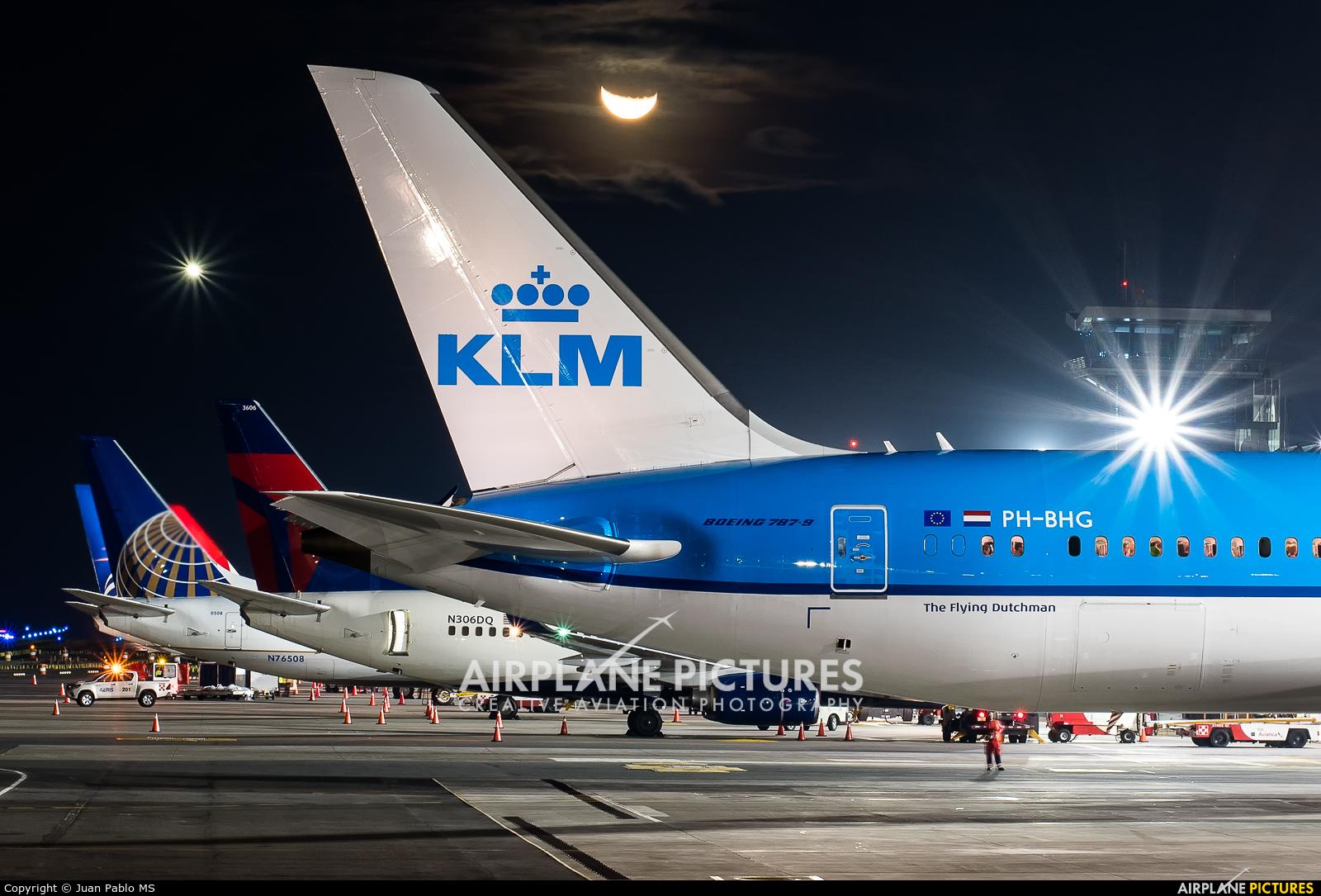KLM PH-BHG aircraft at San Jose - Juan Santamaría Intl