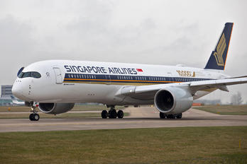 9V-SMF - Singapore Airlines Airbus A350-900