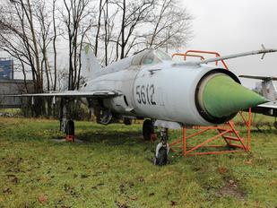 5612 - Czech - Air Force Mikoyan-Gurevich MiG-21MF
