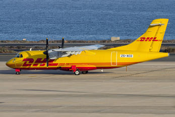 ZS-XCD - Solenta Aviation ATR 42 (all models)