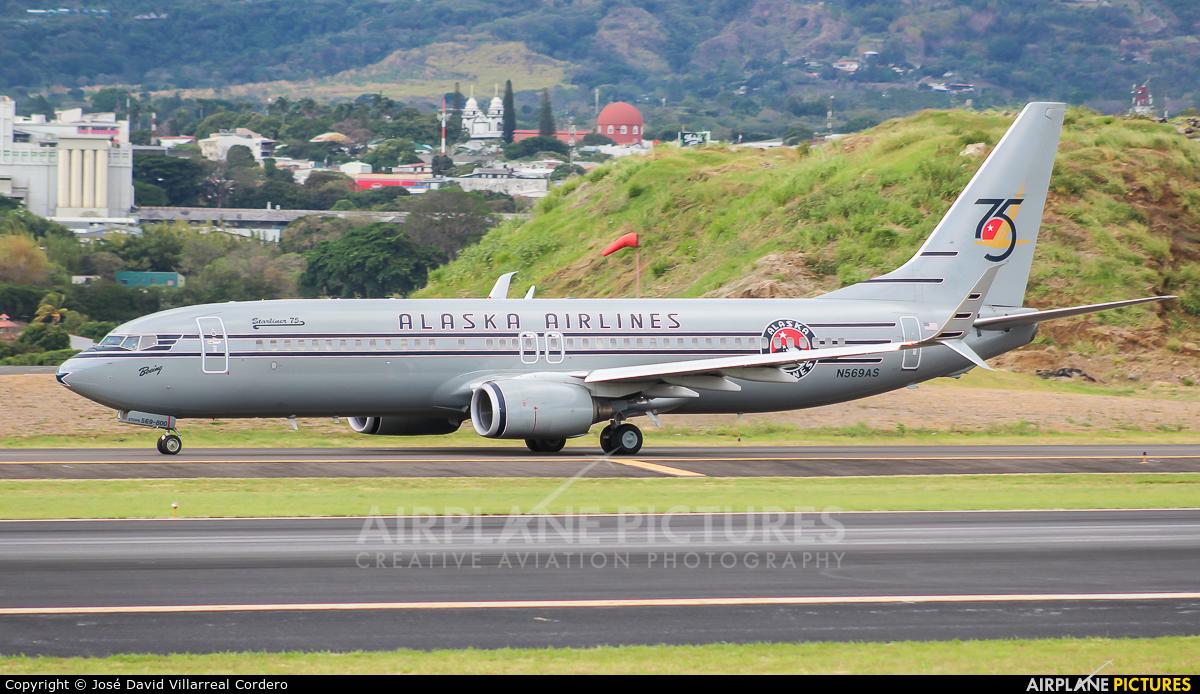 Alaska Airlines N569AS aircraft at San Jose - Juan Santamaría Intl