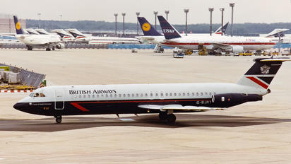 G-BJRT - British Airways BAC 111