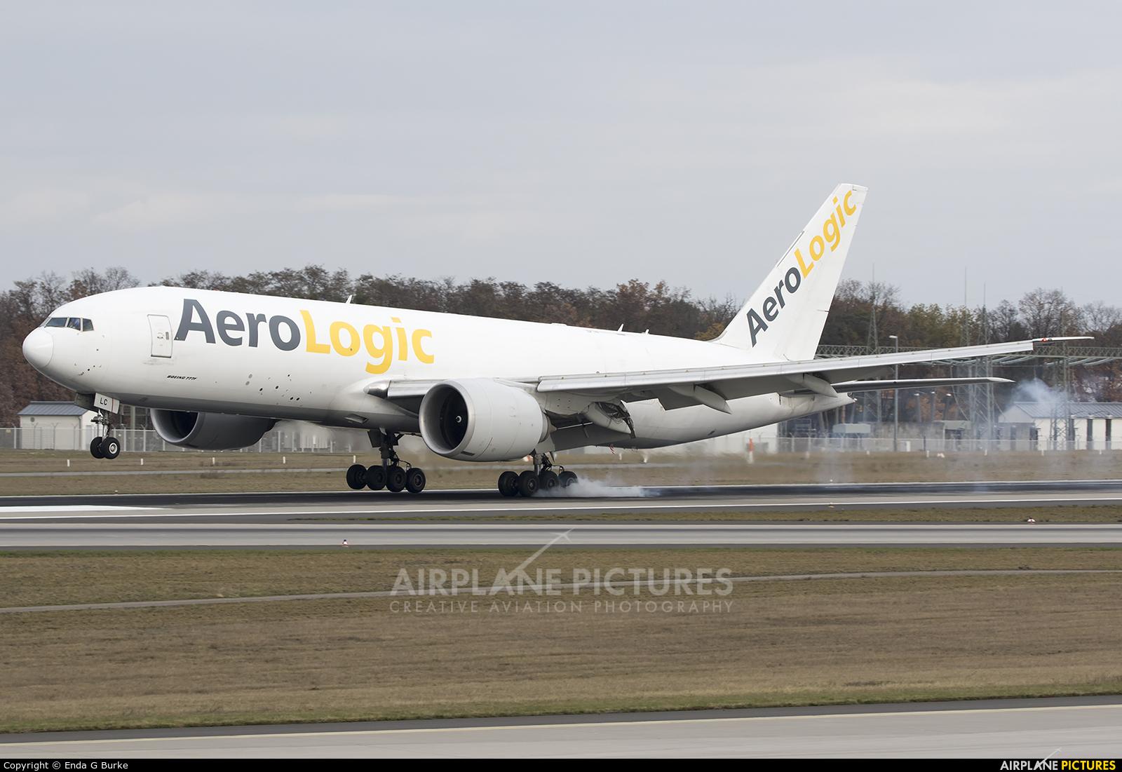 AeroLogic D-AALC aircraft at Frankfurt