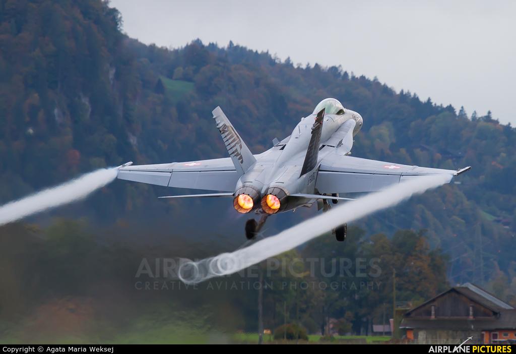 Switzerland - Air Force J-5018 aircraft at Meiringen