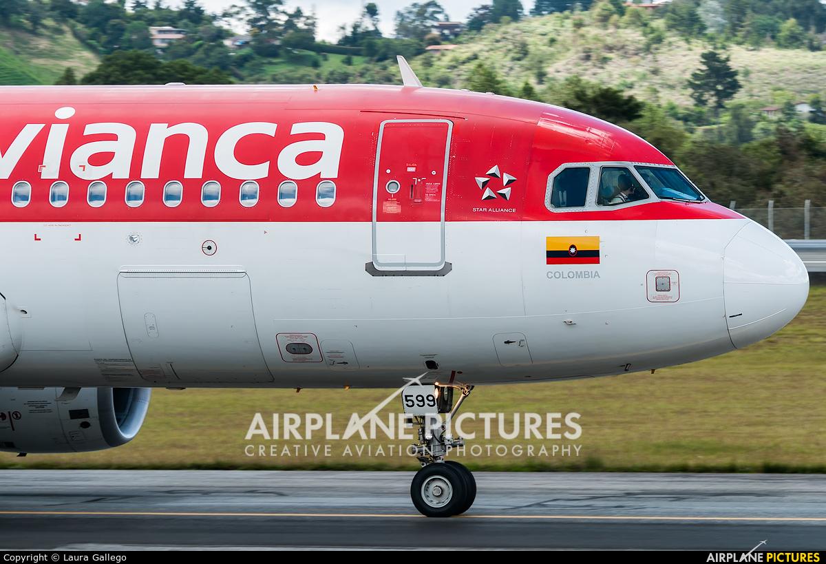 Avianca N599AV aircraft at Medellin - Jose Maria Cordova Intl