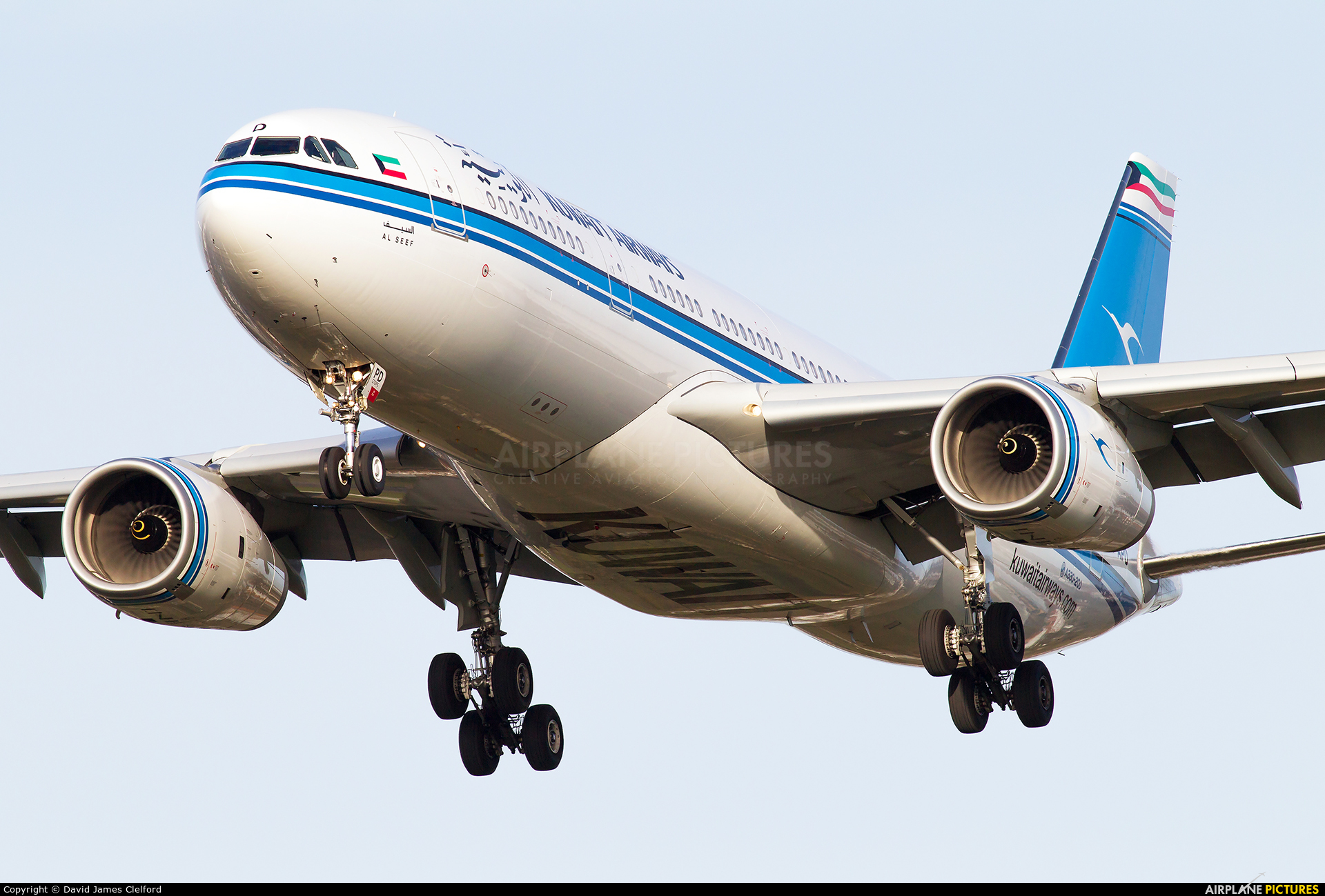 Kuwait Airways 9K-APD aircraft at London - Heathrow