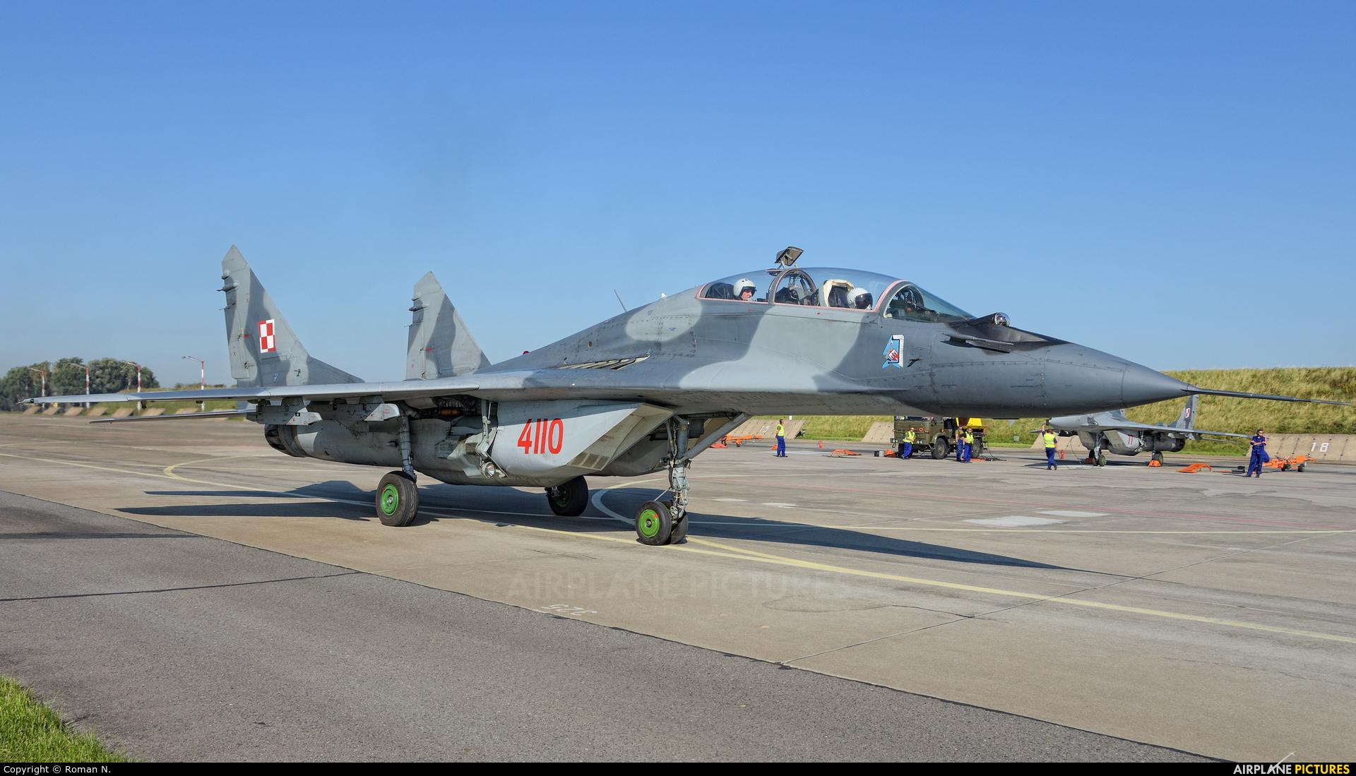 Poland - Air Force 4110 aircraft at Malbork