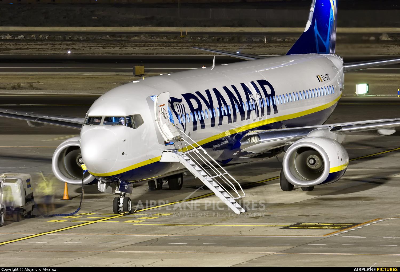 Ryanair EI-GDF aircraft at Tenerife Sur - Reina Sofia