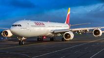 EC-IOB - Iberia Airbus A340-600 aircraft