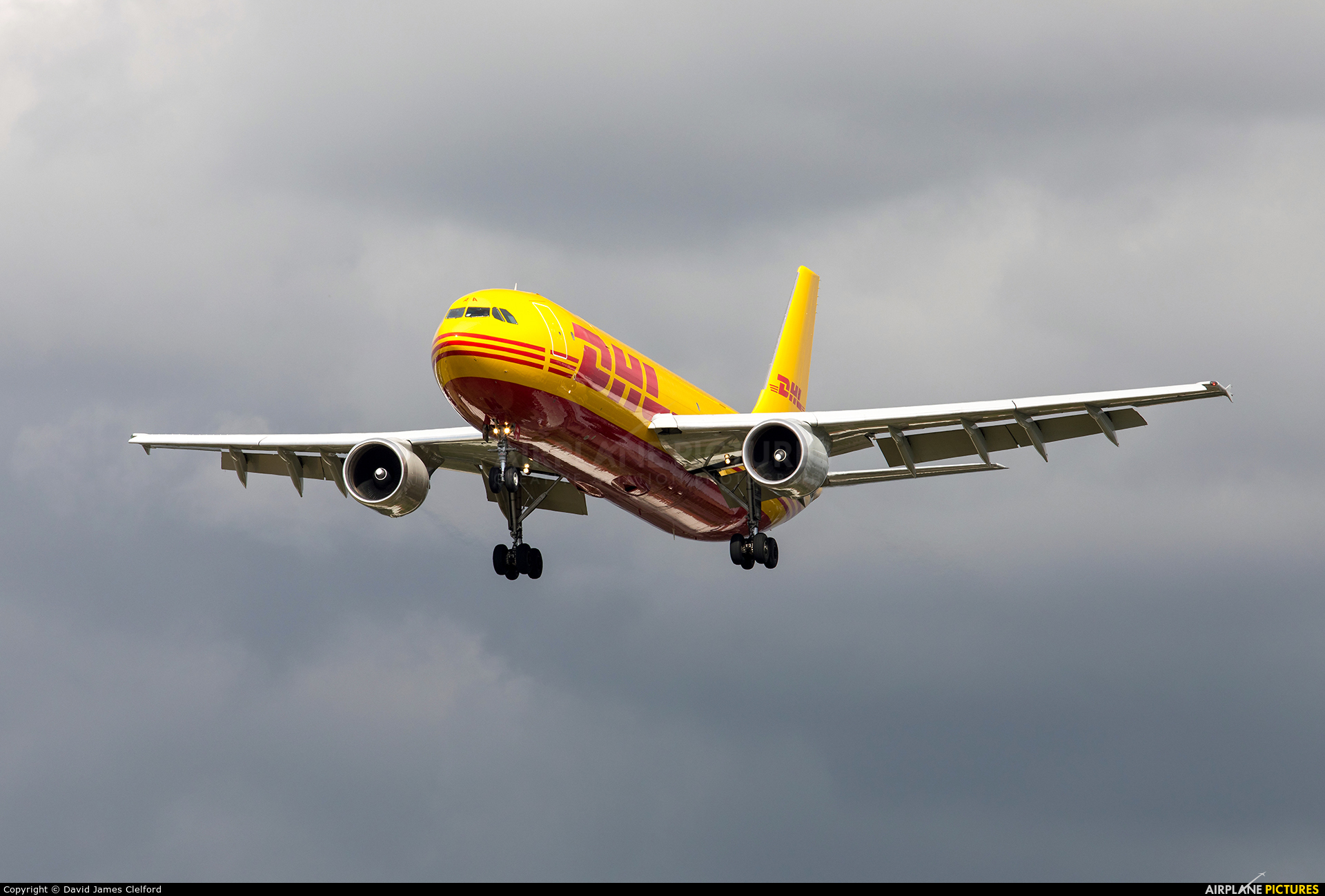 DHL Cargo D-AEAA aircraft at London - Heathrow