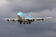 HL7642 - Korean Air Boeing 747-8 aircraft
