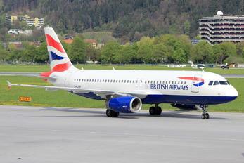 G-EUUF - British Airways Airbus A320