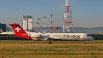HB-JVH - Helvetic Airways Fokker 100 aircraft