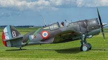 G-CCVH - Patina Curtiss 75A-1 Hawk aircraft