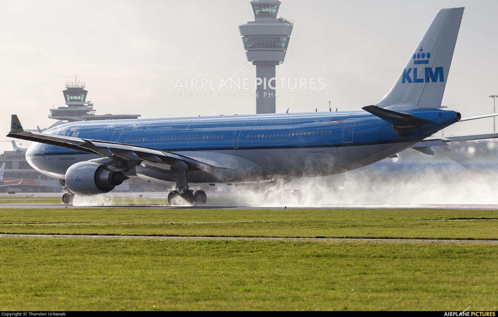 KLM PH-AKF aircraft at Amsterdam - Schiphol
